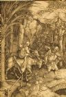 Albrecht Durer 'Flight into Egypt' Reichsdruckerei; 1800's